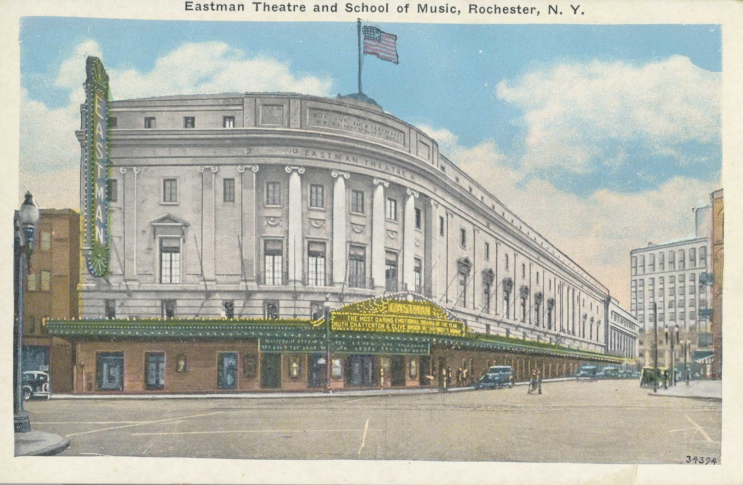 Eastman Theatre and School of Music, Rochester, N.Y.