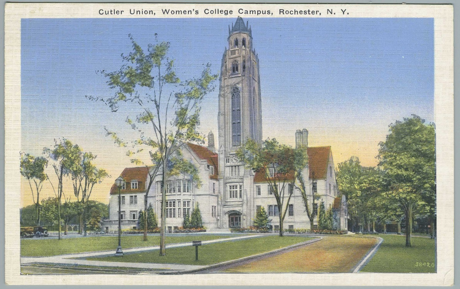 Cutler Union, Women's College Campus, Rochester, N.Y.