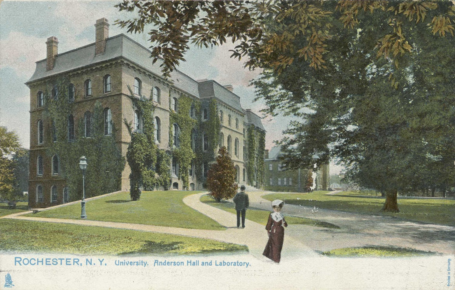 Rochester, N.Y. University. Anderson Hall and Laboratory.