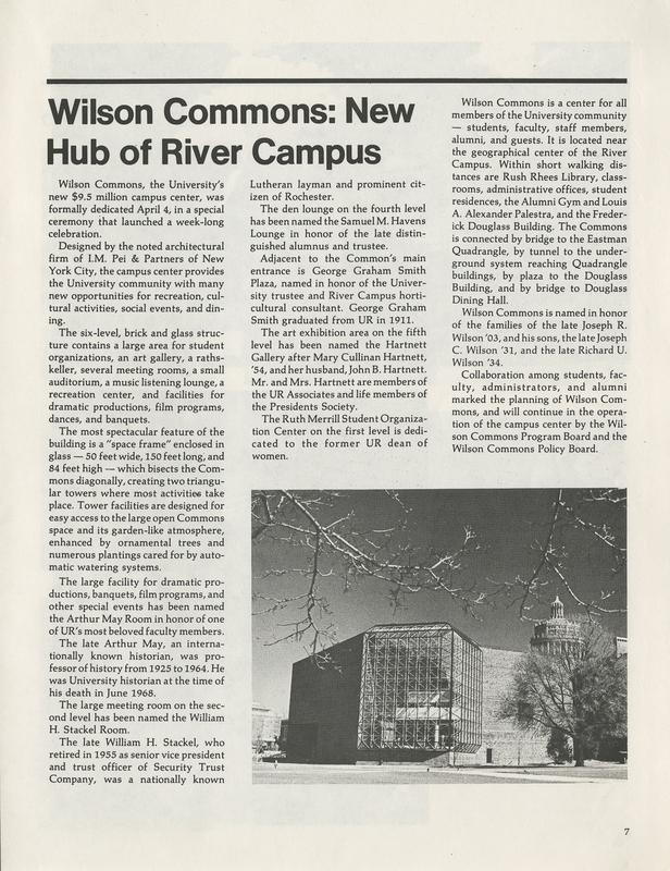 Rochester Review (Summer 1976)