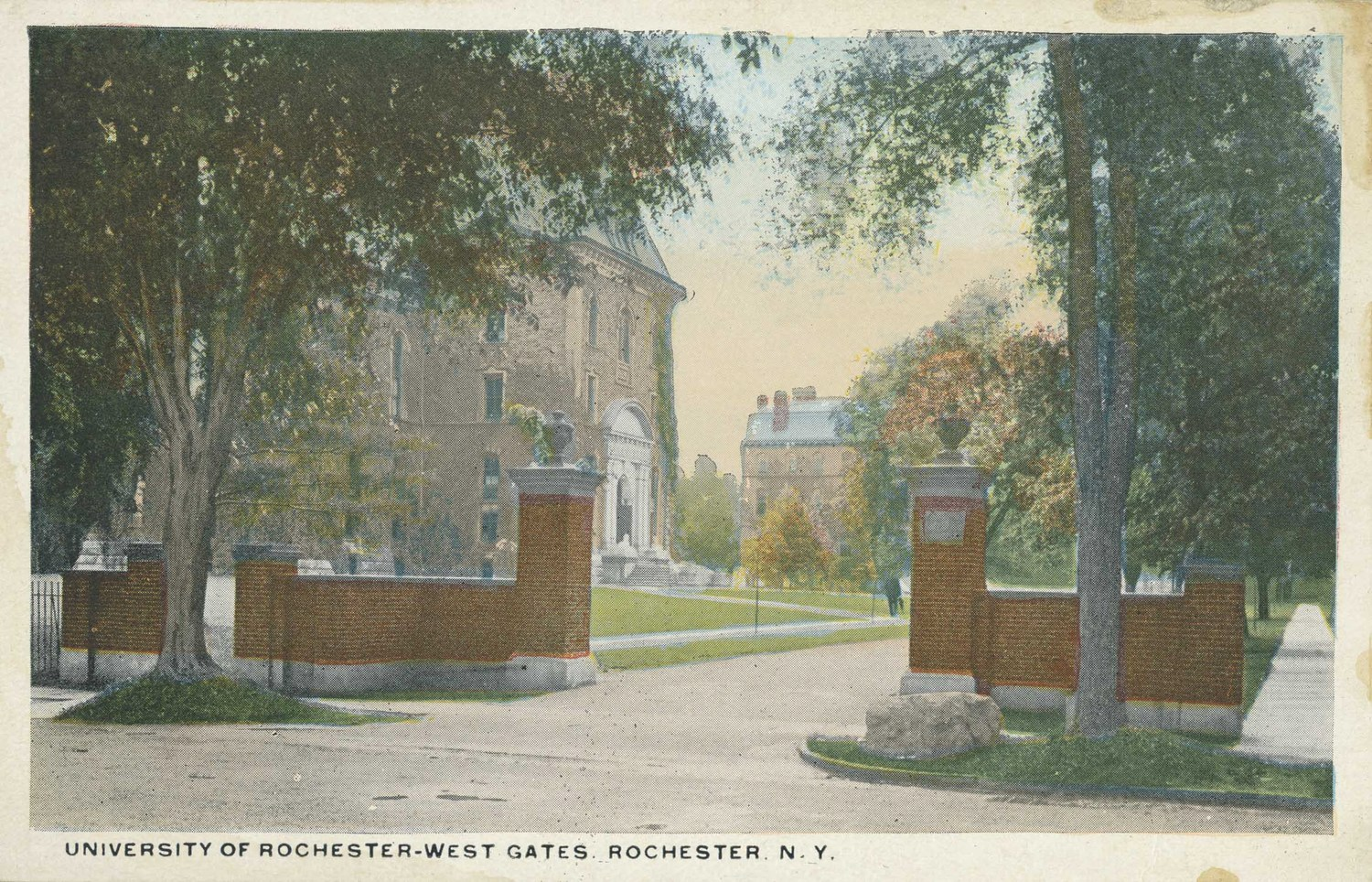 University of Rochester–West Gates. Rochester. N.Y.