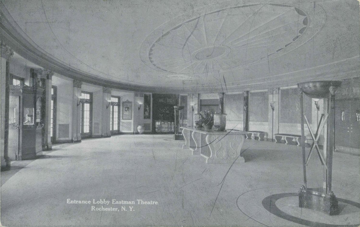 Entrance Lobby, Eastman Theatre. Rochester, N.Y.