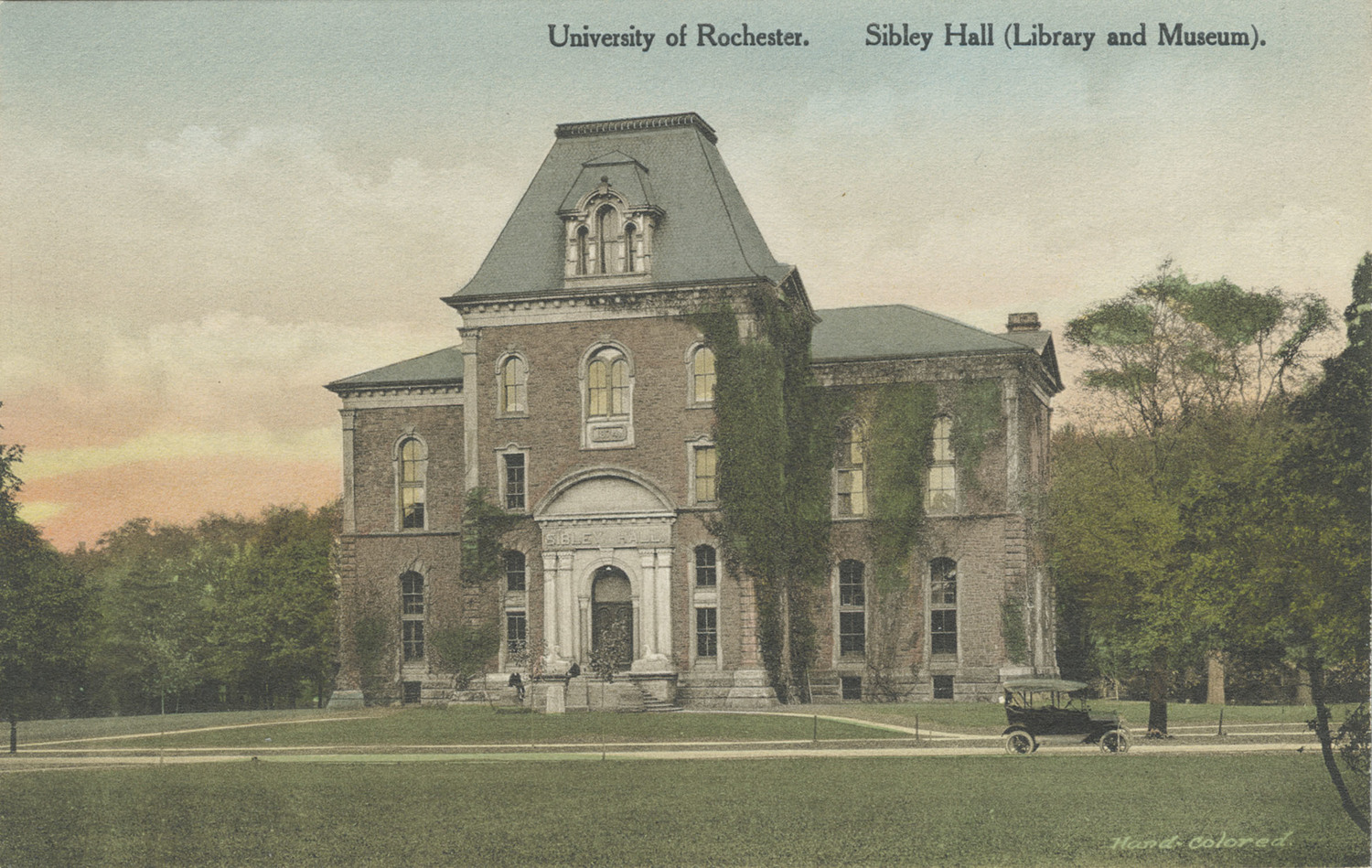 University of Rochester. Sibley Hall [Library and Museum].