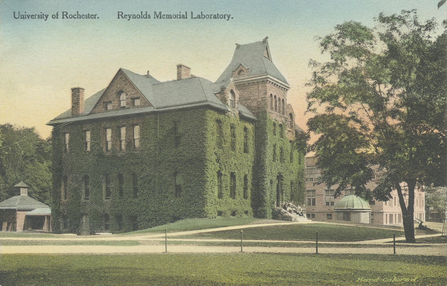 University of Rochester. Reynolds Memorial Laboratory.