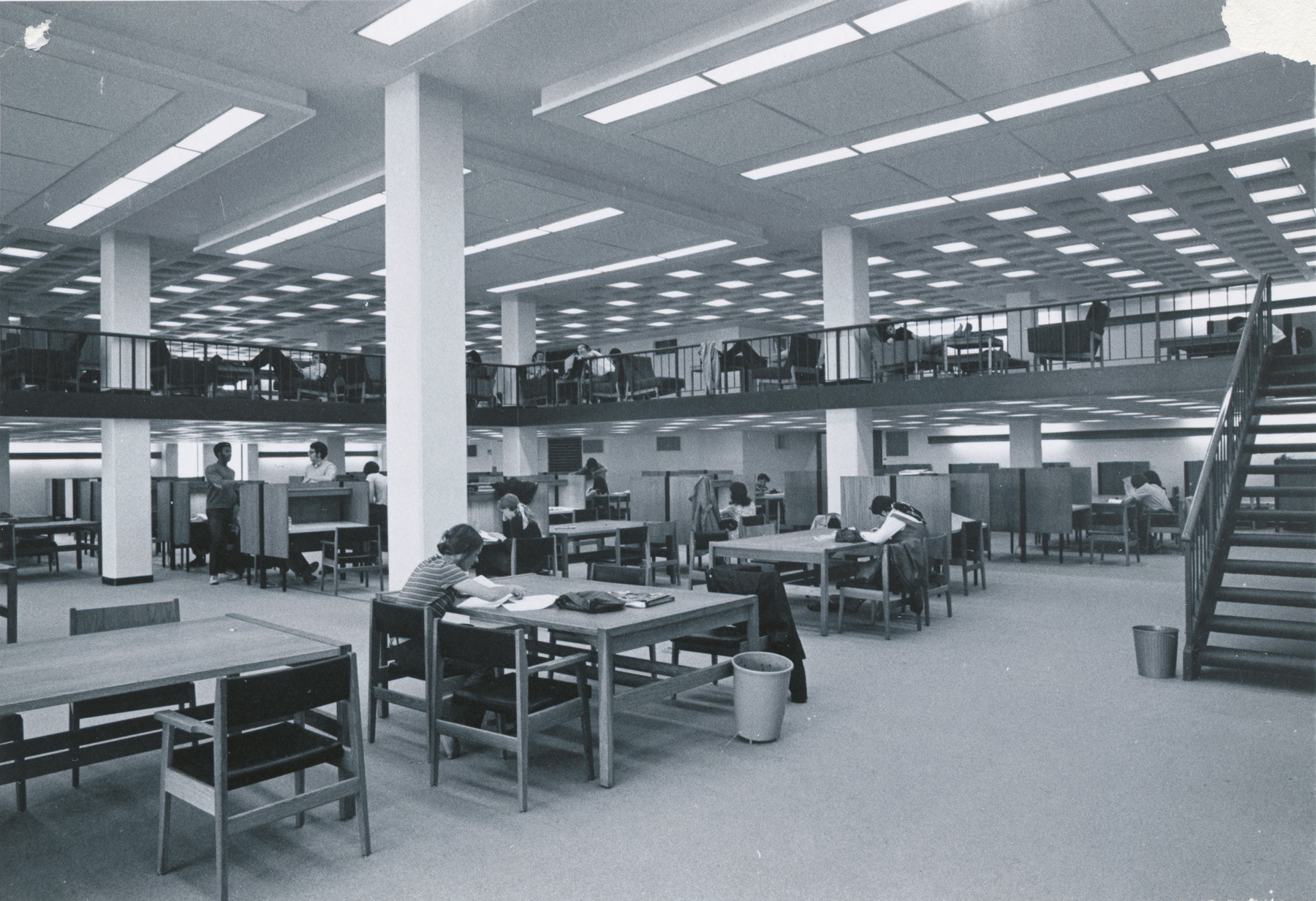 Rush Rhees Library: Reserve Reading Room (1970)