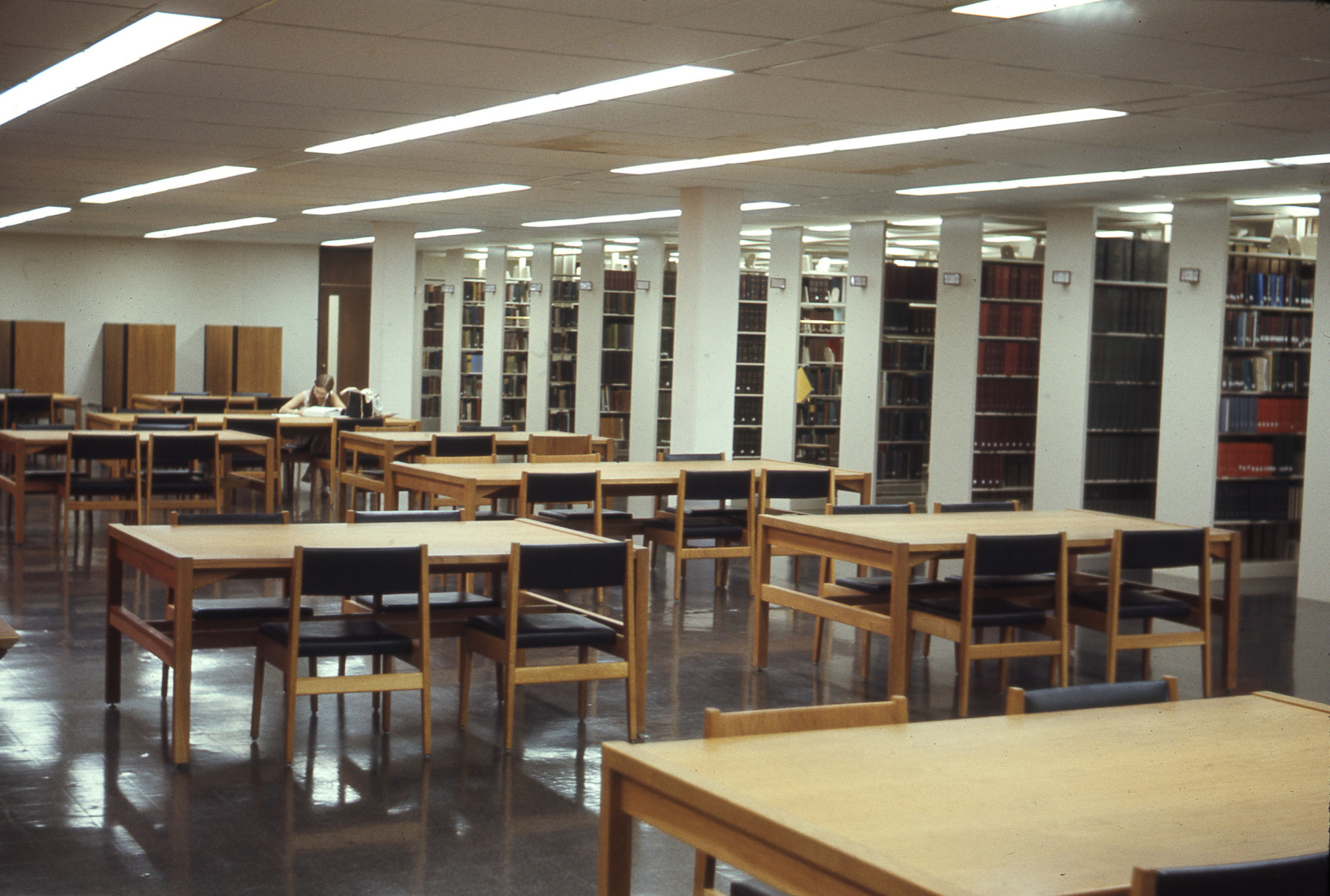 Rush Rhees Library: Study Spaces (1970)