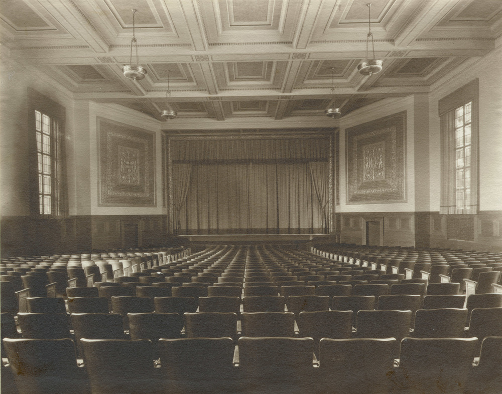 Strong Auditorium: Upper Strong