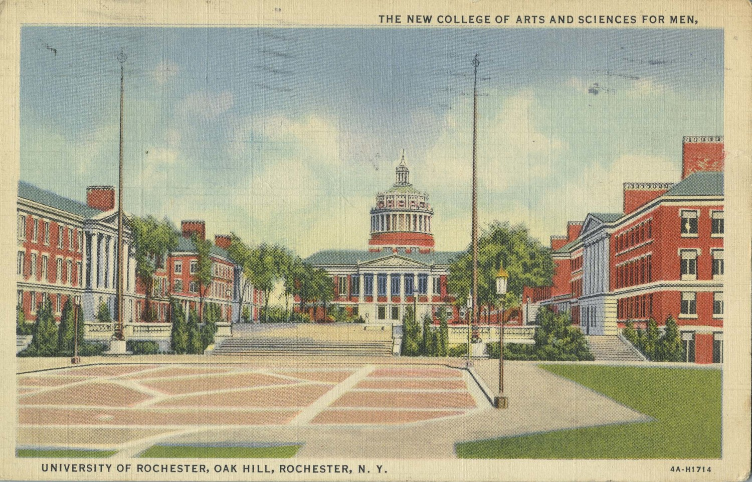 The New College of Arts and Sciences for Men, University of Rochester, Oak Hill, Rochester N.Y.