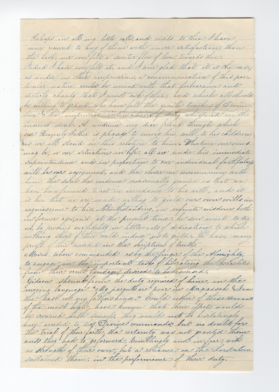 Unknown writer. Letter to Anna.