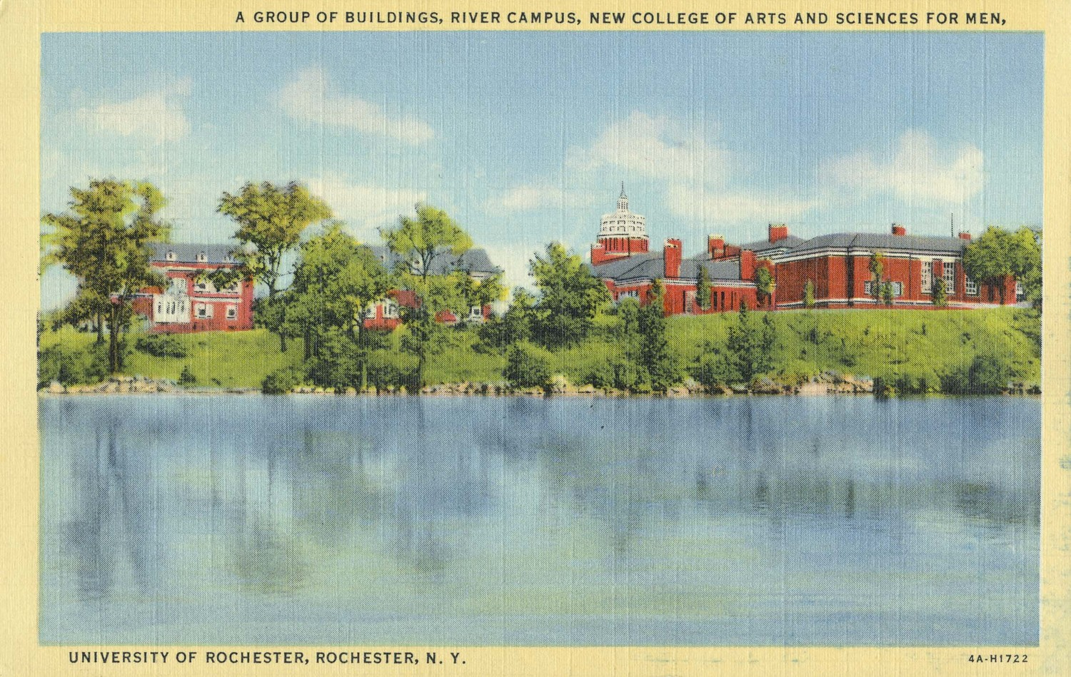 A Group of Buildings, River Campus, New College of Arts and Sciences for Men.