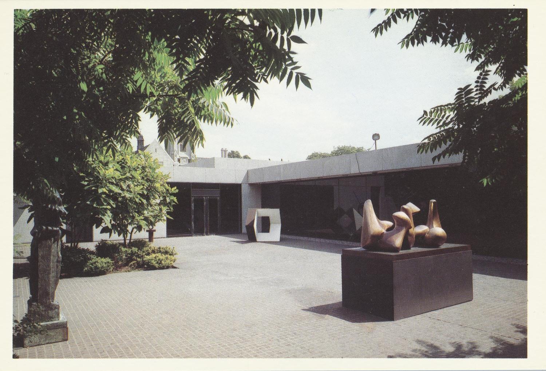 Gertrude Herdle Moore Sculpture Garden.