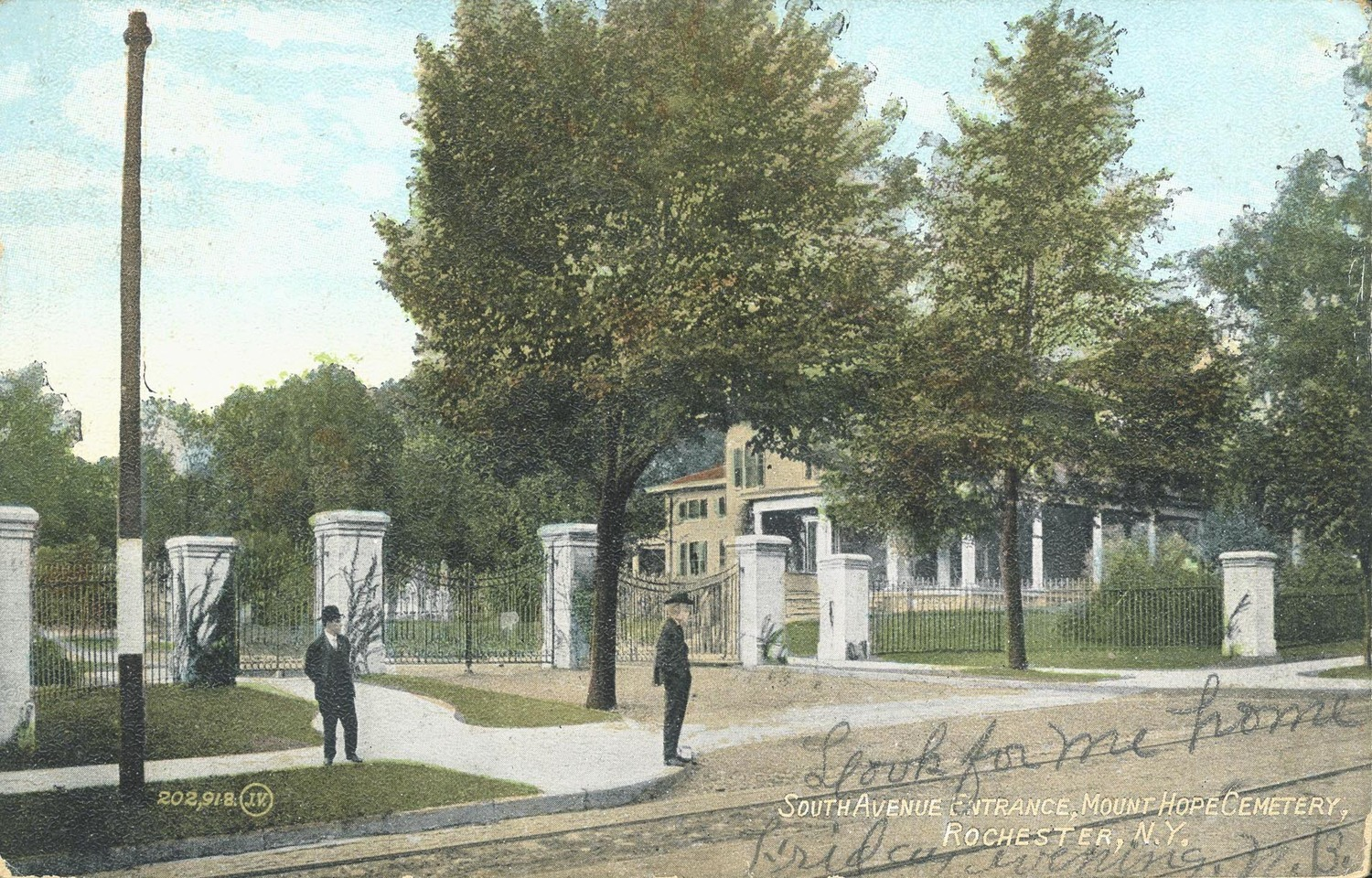 South Avenue Entrance, Mount Hope Cemetery, Rochester, N.Y.