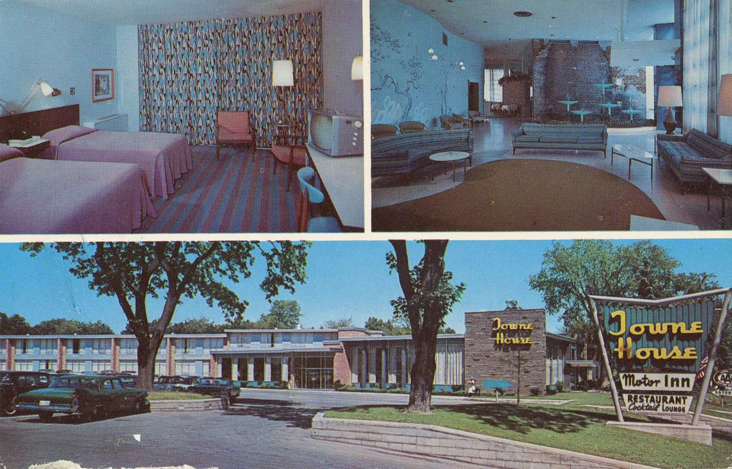 Towne House Motor Inn & Restaurant.