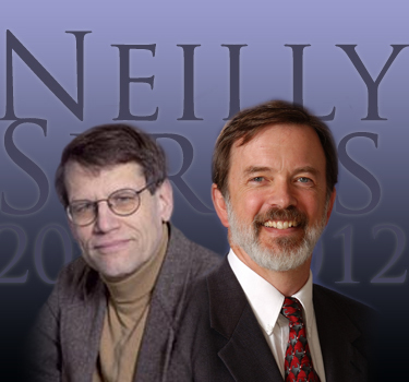 Roger Easton and Keith Knox: Neilly Series Lecture