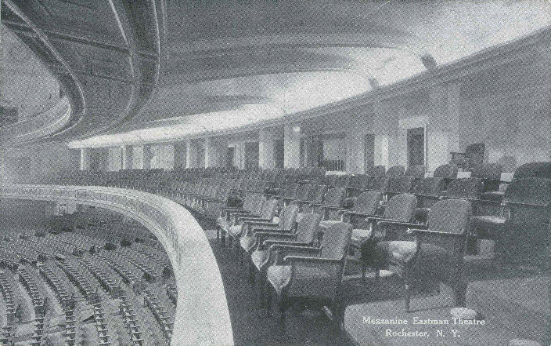 Mezzanine Eastman Theatre.