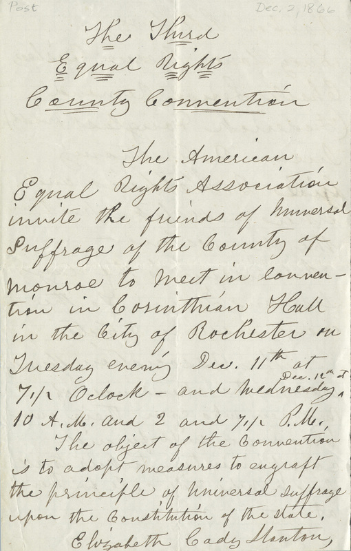 Draft of press release text announcing a meeting in Rochester