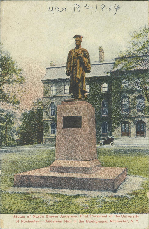Martin Brewer Anderson Statue.