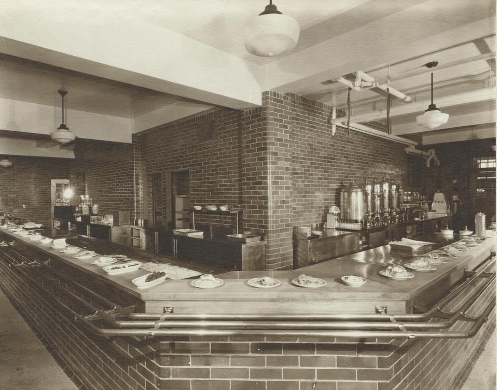 Todd Union. Food Service Area