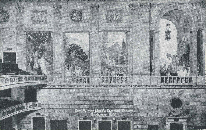 Ezra Winter Murals Eastman Theatre, Rochester N.Y.