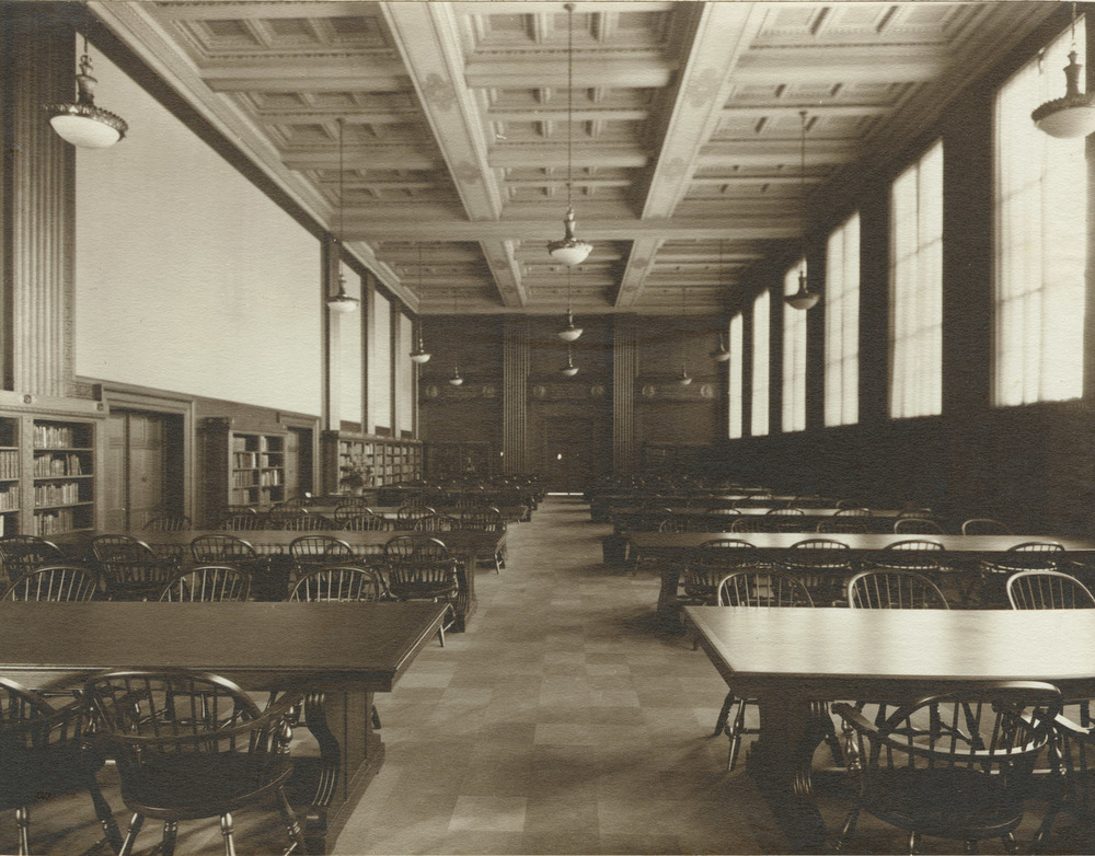 Rush Rhees Library: Periodical Reading Room