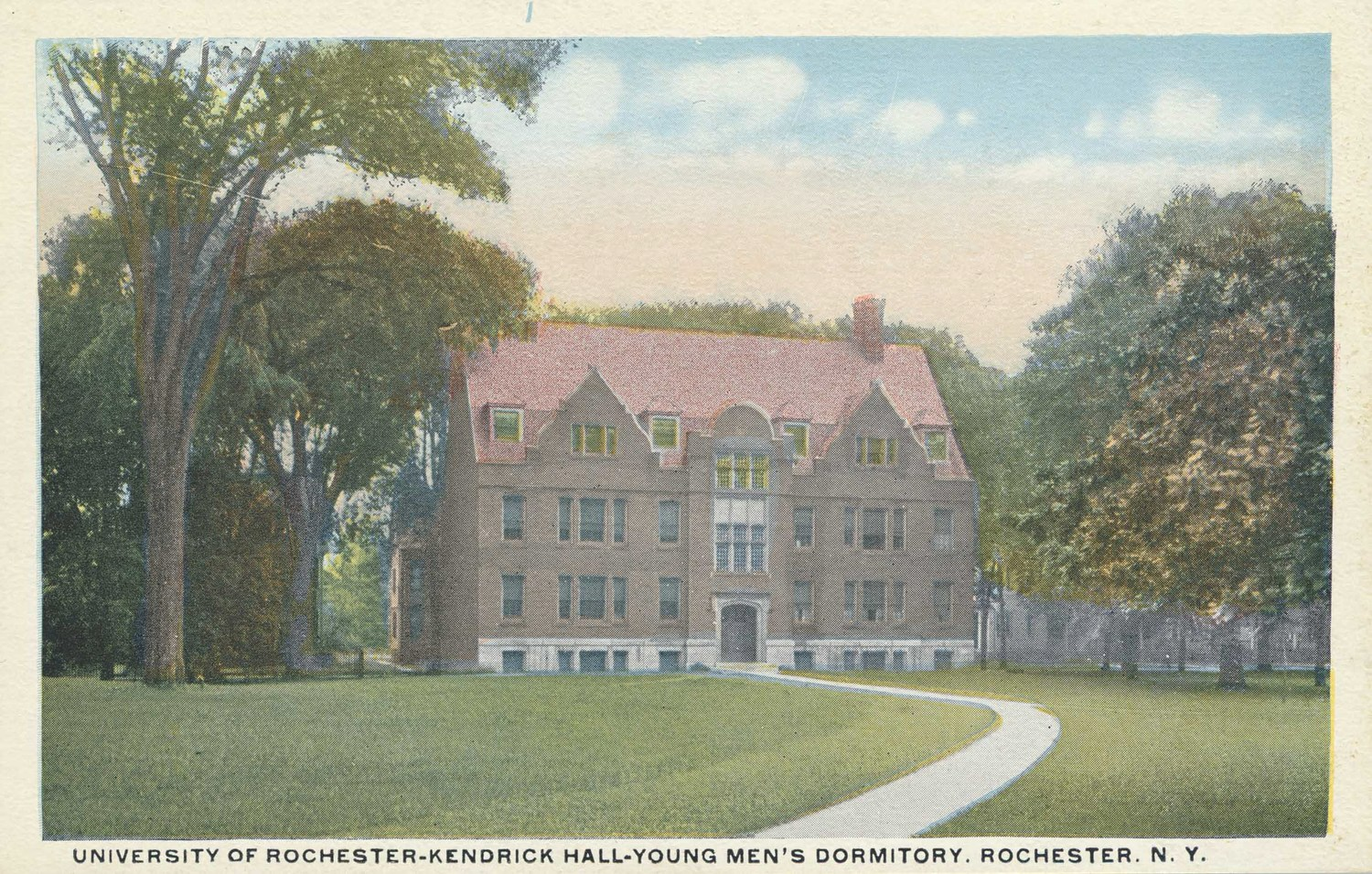 University of Rochester-Kendrick Hall-Young Men's Dormitory, Rochester, N.Y.