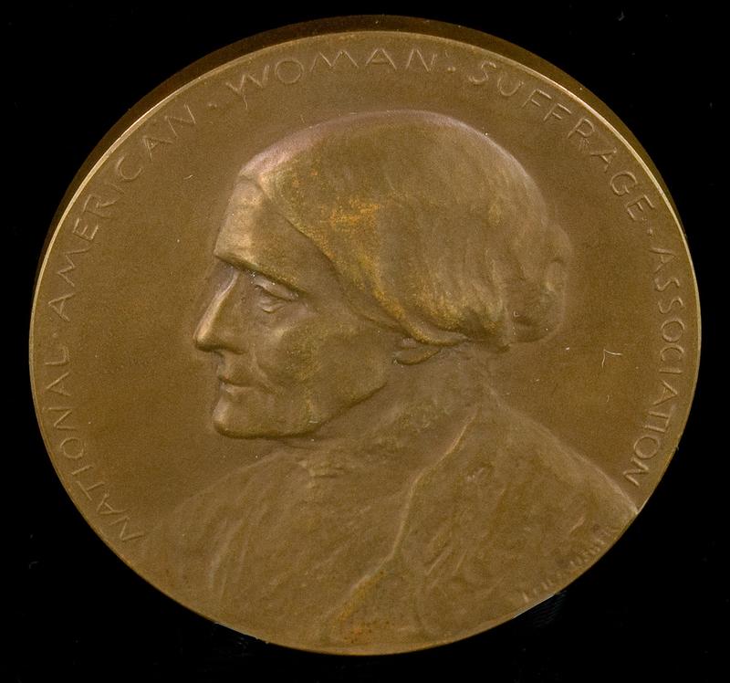 Bronze Susan B. Anthony medallion