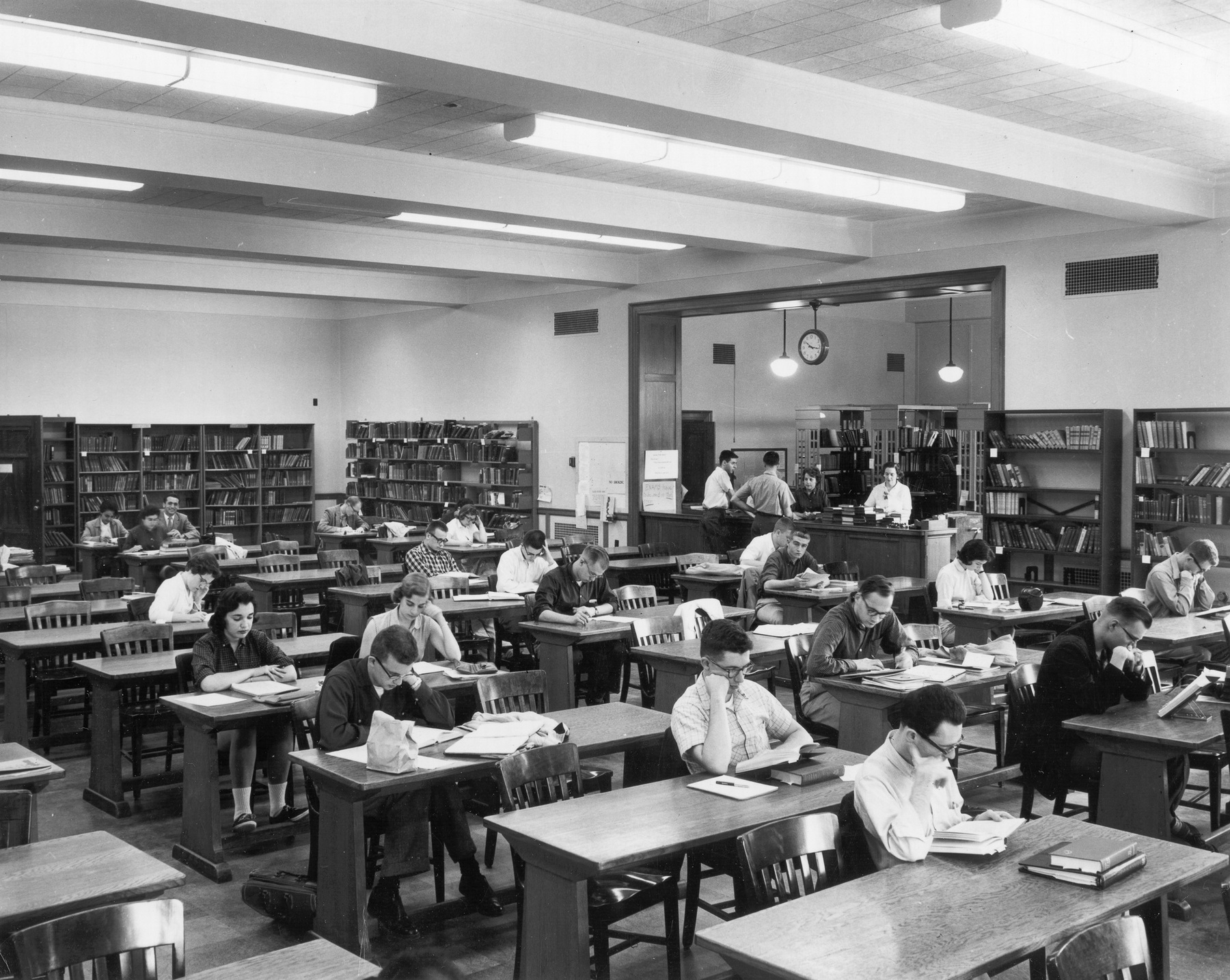 Rush Rhees Library: Reserve Reading Room (1930)