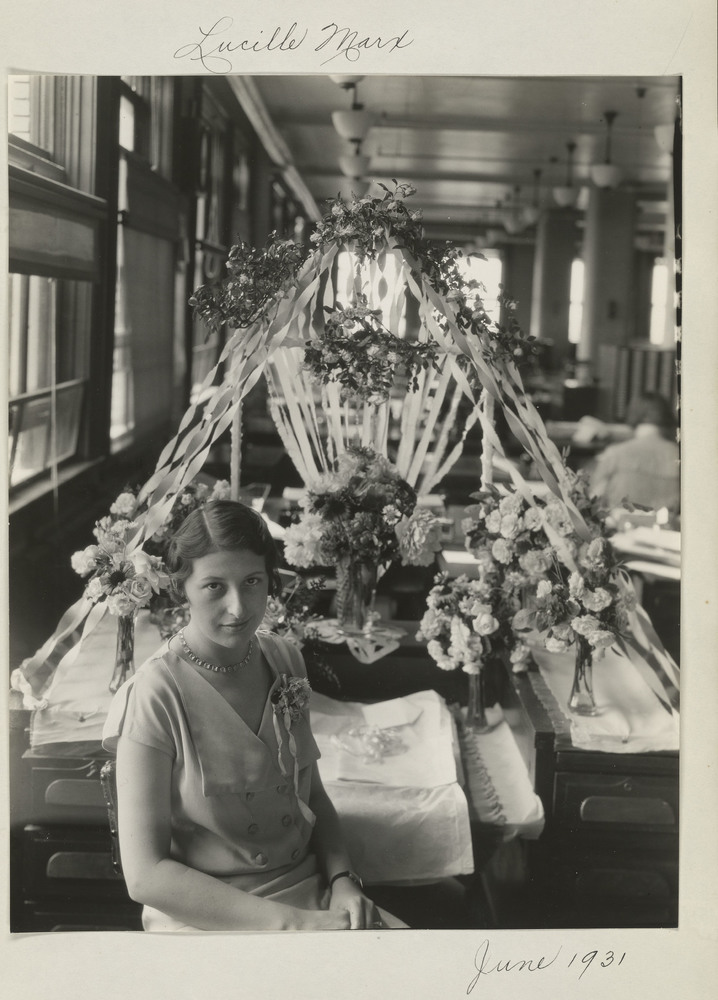 Eastman Kodak Employee, Lucille Marx.jpg