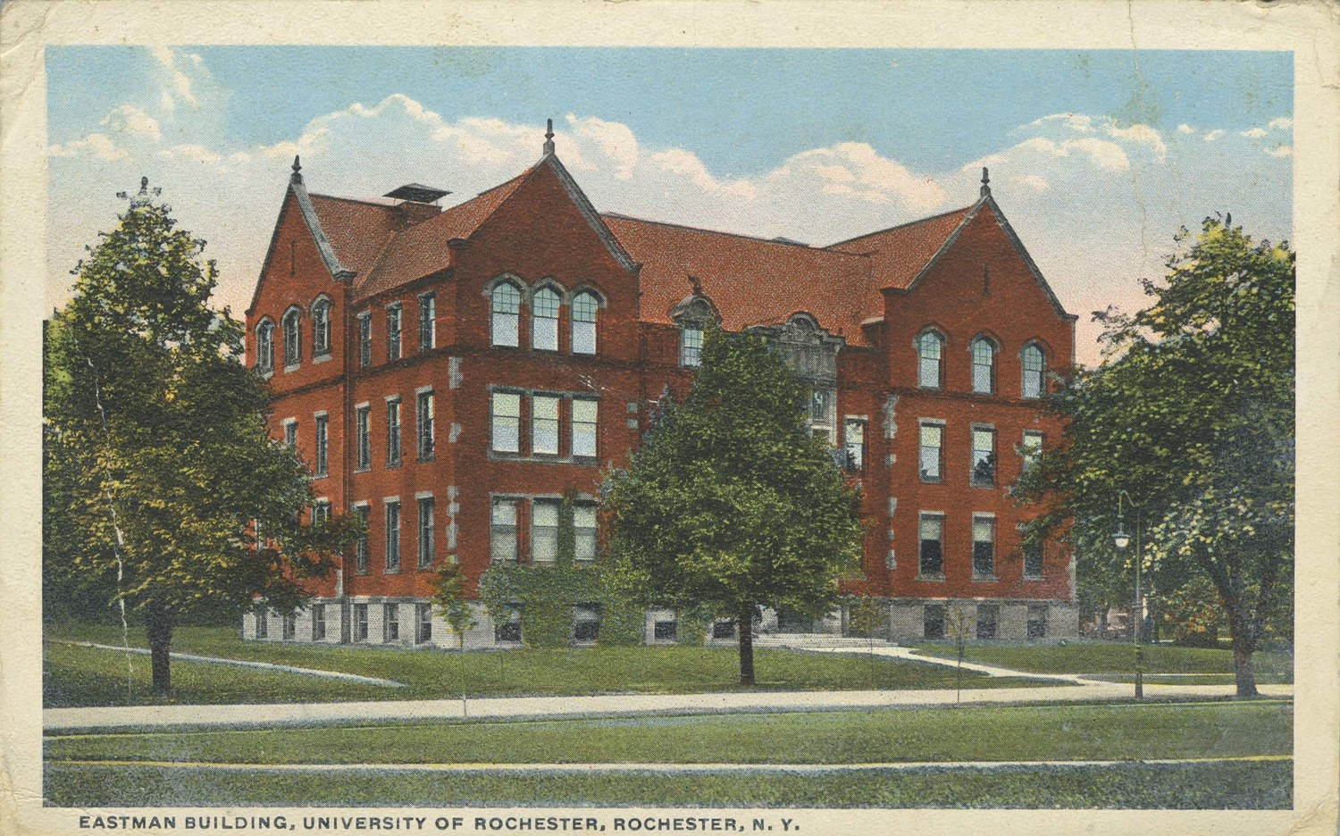 Eastman Building, University of Rochester. Rochester, N.Y.