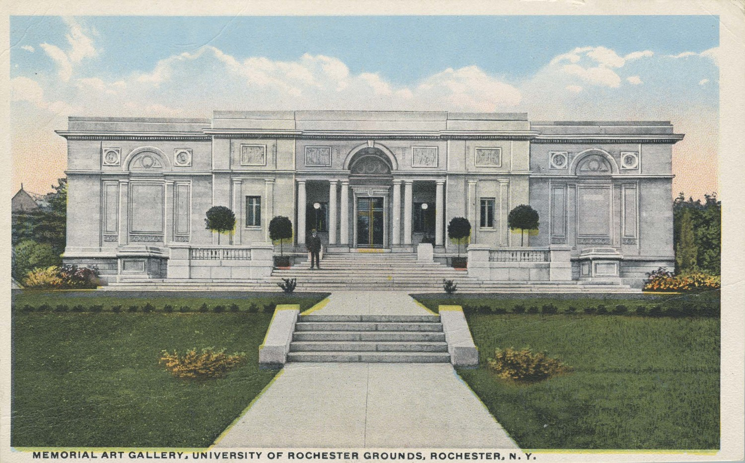 Memorial Art Gallery, University of Rochester Grounds, Rochester, N.Y.