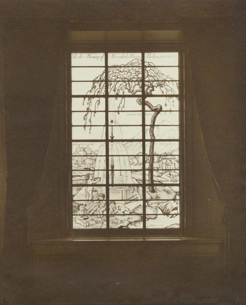 Rush Rhees Library: Welles-Brown Room, Memorial Window