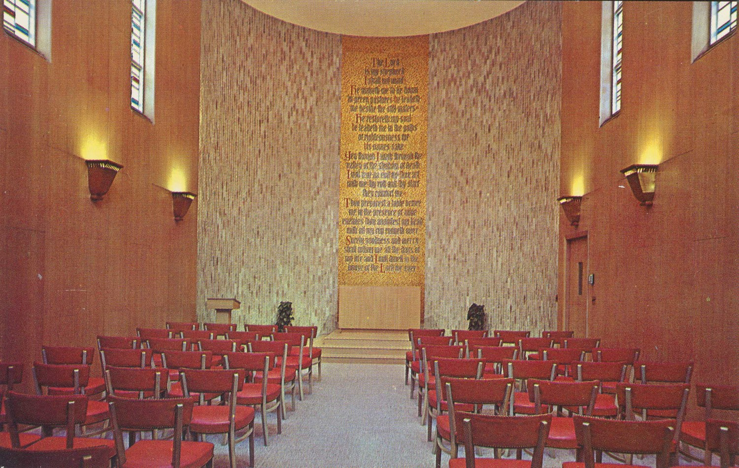 Interfaith Meditation Chapel.