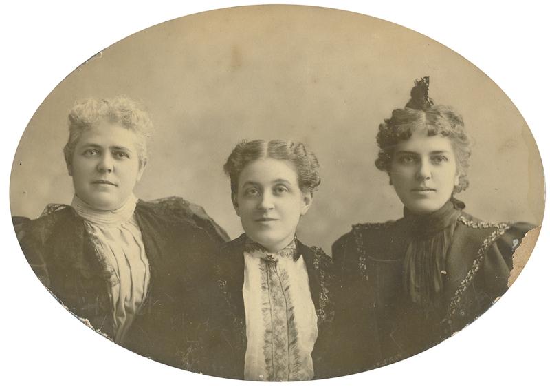 Catt, Carrie Chapman, with Mary Garrett Hay and Emma B. Sweet