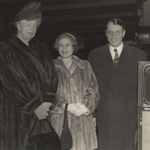 Eleanor Roosevelt and the Wilsons