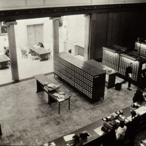Rush Rhees Library: Great Hall (Circulation Room)