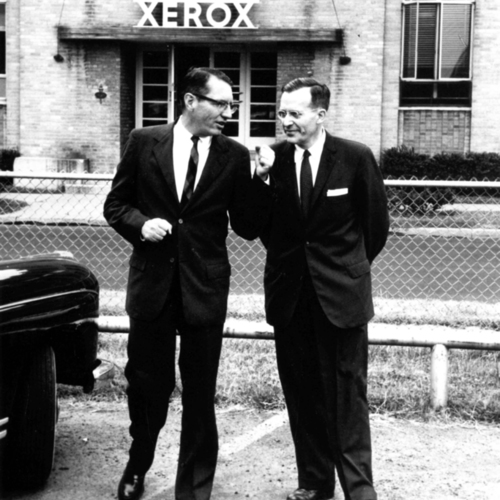 Joseph Wilson and John Dessauer