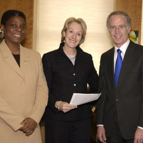 Ursula Burns, Anne Mulcahy, and Thomas H. Jackson.