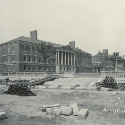 Lattimore Hall: River Campus Construction
