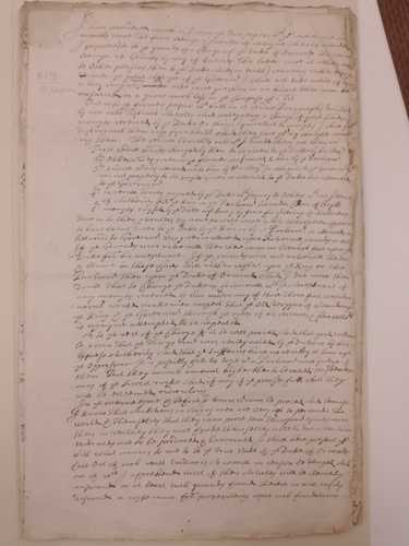 Sir Robert Southwell First Page Notes for an Unspecified Biography of the Duke of Ormond.jpg